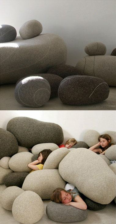 Funny Rock pillows